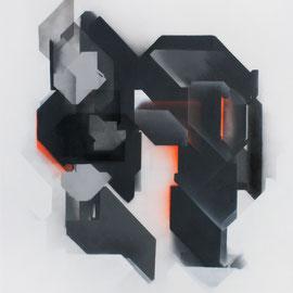 Brunolove #3 - 120x60 cm - spraypaint on canvas - 2015 - Preis auf Anfrage