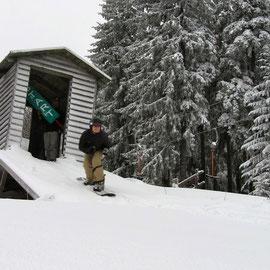 Renate Waldner: Viehbergrennen- Start zum Jänner Slalom.