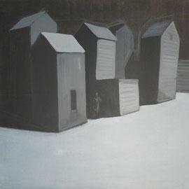 Calling, 2012 - acrilico su tela, 120x130 cm