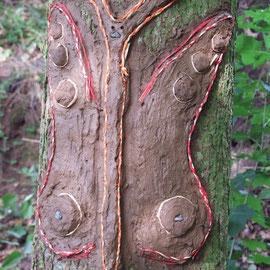 Schmetterling - LandArt - BaumArt
