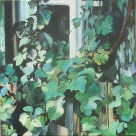 Fensterreben, Acryl auf Leinwand (verkauft)