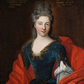 Gabrielle-Anne de Froulay, anonyme, Ecole française du XVIIe siècle