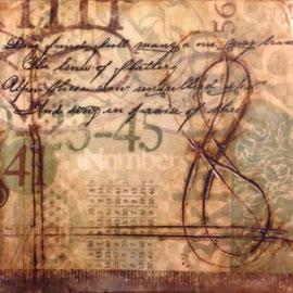 quadro realizzato ad encausto