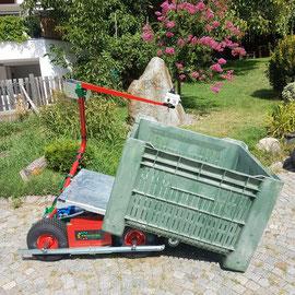 Frucotec praktische Erntemaschine