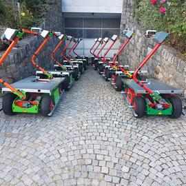 Die Elektro- Mehrzweckwagen