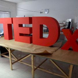 TEDx, Letras para Evento