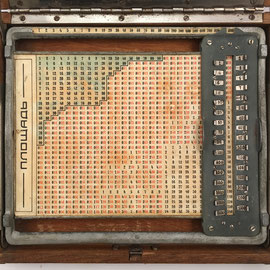 Anverso de la tabla de cálculo
