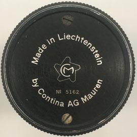 Número de serie 5162, fabricada a mediados de julio de 1948 por Cortina LTD en Vaduz (Liechtenstein)