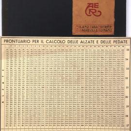 IL CALCOLATORE VELOCE, editado por Andreoli e Romano, 22x30 cm