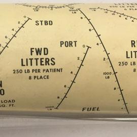 La regla está fabricada por DE HAVILLAND Aircraft of Canada Ltd. en Toronto (Canada), bajo patente nº 595010 de 22 de marzo de 1960