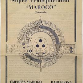 Folleto de instrucciones para el transportador MAROGO