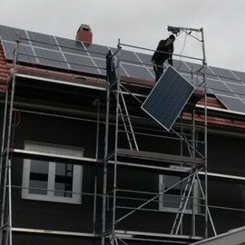 az Energie - Photovoltaik Geschwenda / Thüringen