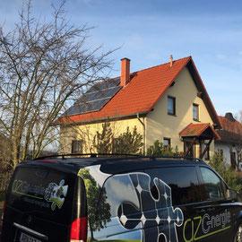 az Energie - Photovoltaik Stadtilm / Thüringen