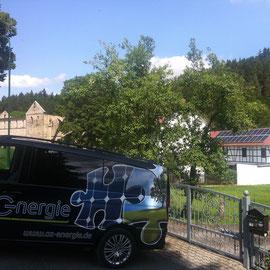 az Energie - Photovoltaik Paulinzella / Thüringen