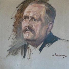 Porträt Naumanns von Max Liebermann