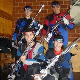 Unsere Schützen mit AXIA TRIPLE X!