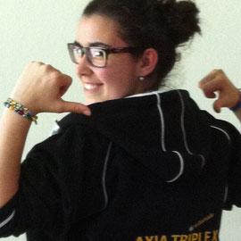Valentina Frione, eine weitere erfolgreiche Schützin mit AXIA TRIPLE X