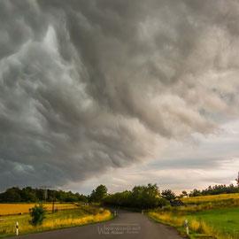 schnell und unheimlich dieses Unwetter vom 11.06.14