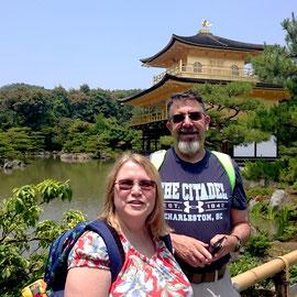 "Kinkaku-ji Temple, actually ""Rokuon-ji Temple"""