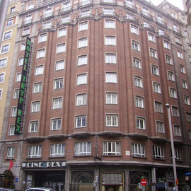 Cine Rex Gran Via, Madrid, Levantamiento y mediciones de edificios, Rodrigo Perez Muñoz, Arquitecto
