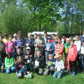 Teilnehmer Jugendforellenangeln