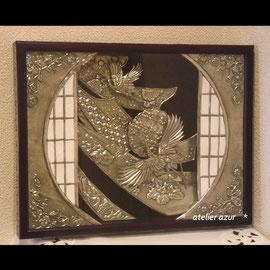 『紡ぎゆく』  第4回日本メタルエンボッシングアート大賞展 「大賞」受賞
