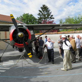 Journées portes ouvertes au Musée de l'aéronautique locale.