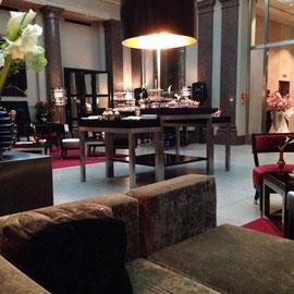 Stefanie Frädrich im Hotel de Rome