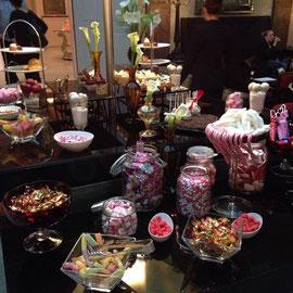 Candybar im Hotel de Rome