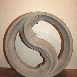 Stein masswerk, Tilmann Bohne, Holzsteinpapier