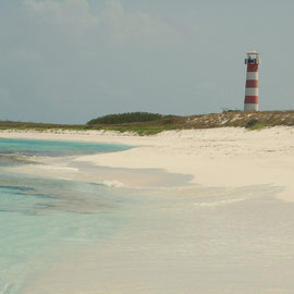 Lighthouse auf Cayo de Agua