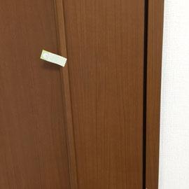 室内扉の表面割れ「補修後」