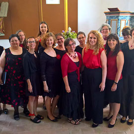 Auftritt in der Kirche in Hetshburg zur 900-Jahrfeier, 2019