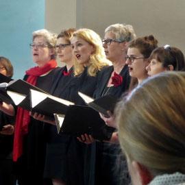 Auftritt beim Bundeschorwettbwerb in Freiburg im Breisgau 2018