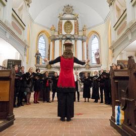 Auftritt in der Kirche in Oberweimar, 2015