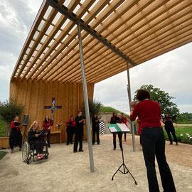 ©VocaLisa auf der Bundesgartenschau in Erfurt 06/2021, Foto: Harald Mohr
