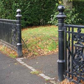 Park Boundary Gates