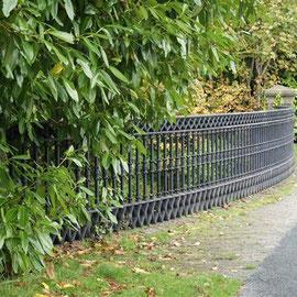 Aqueduct railings