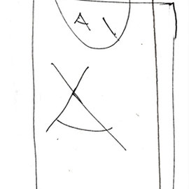 """""""campo da gioco"""" acrilico su tela cm35x45 (2011) - esercizi"""