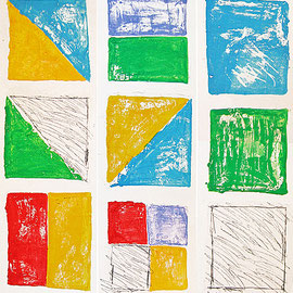 """""""totem"""" acrilici e segni a matita su tavola di legno ricoperta di gesso acrilico e stucco (tre pezzi di un'unica asse) cm2,10x20"""