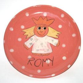 """Kinderteller """"kleine Prinzessin"""" / Bestell - Nr. 5602 / 19,- € inklusive ein Wunschname"""