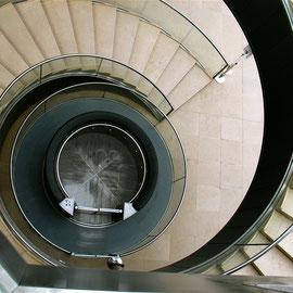 Bild: Louvre Paris in der Glaspyramide