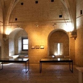 Bild: Erdgeschoss des Tour de Philippe le Bel in Villeneuve les Avignon