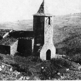 Eglise de l'Hôpital - Photo ancienne