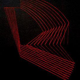 Rojos  7 Acrílico sobre lienzo 30 x 25 cm