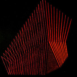 Rojos 1 Acrílico sobre lienzo 30 x 25 cm