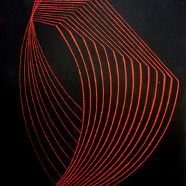 Rojos 4 Acrílico sobre lienzo 30 x 25 cm