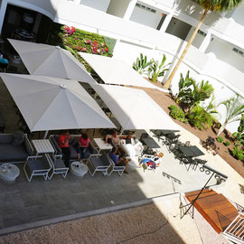 Bar, Restaurant, Außenbereich