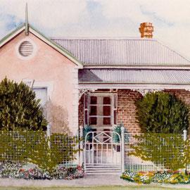 Australie-Tamworth-Aquarelle sur canson