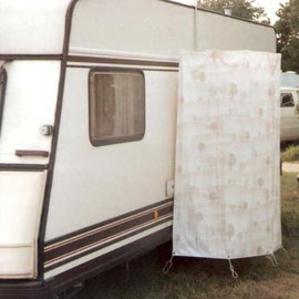 Fundsache Internet: Idee für Außendusche, keine Feuchtigkeit im Wohnwagen